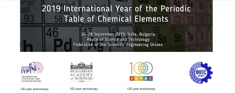 Tenth jubilee national conference on chemistry, 26-28, september, 2019, Sofia, Bulgaria